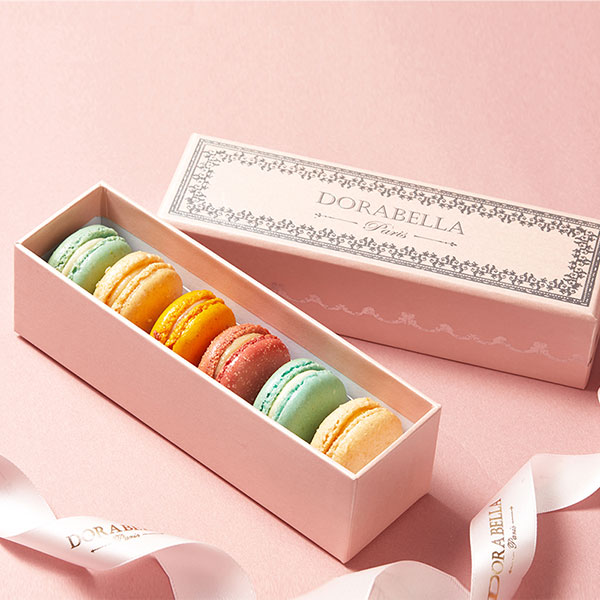 法国马卡龙甜点12粒礼盒