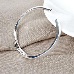 莫比乌斯纯银手环