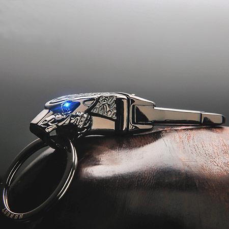 男士豹头汽车钥匙扣