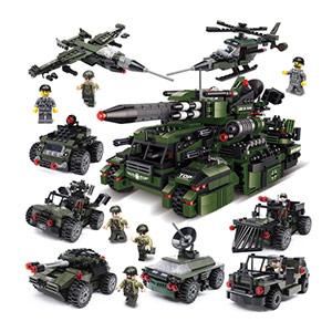 海陆空战队拼装积木玩具