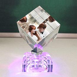 创意水晶照片魔方定制