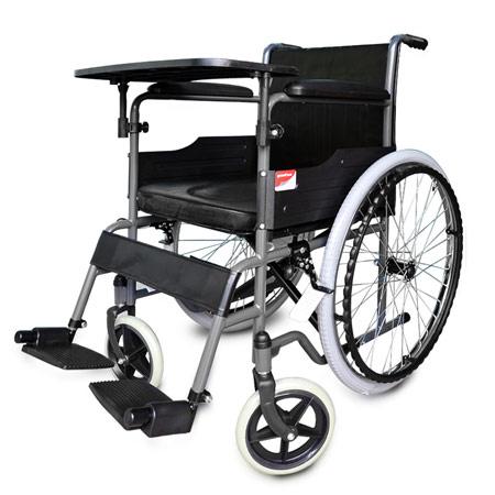 鱼跃铝合金折叠老人轮椅