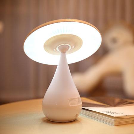 负离子空气净化器台灯