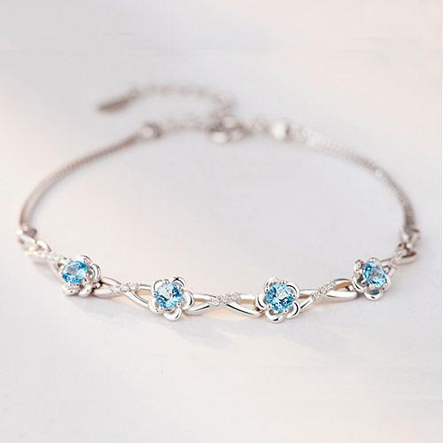 施华洛世奇心形水晶手链