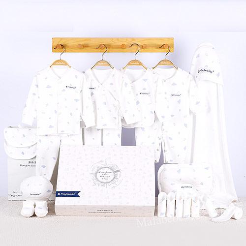 纯棉婴儿衣服套装礼盒