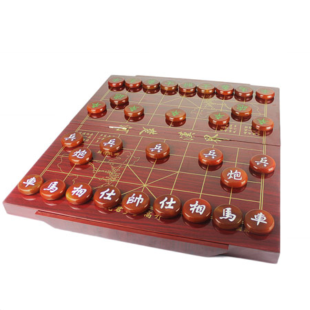 高档天然玛瑙中国象棋