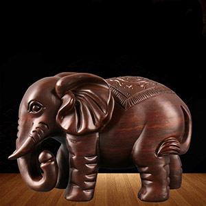 旺财纳福大象摆件
