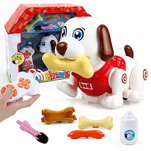 智能多功能声控狗玩具