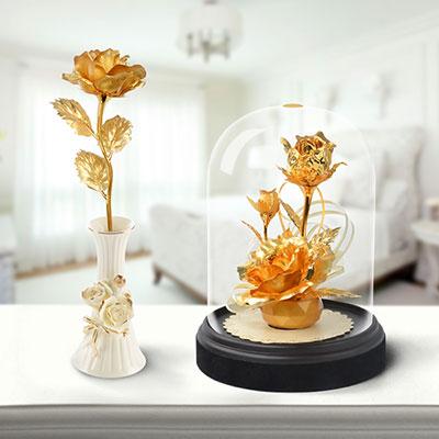 24K金箔玫瑰花