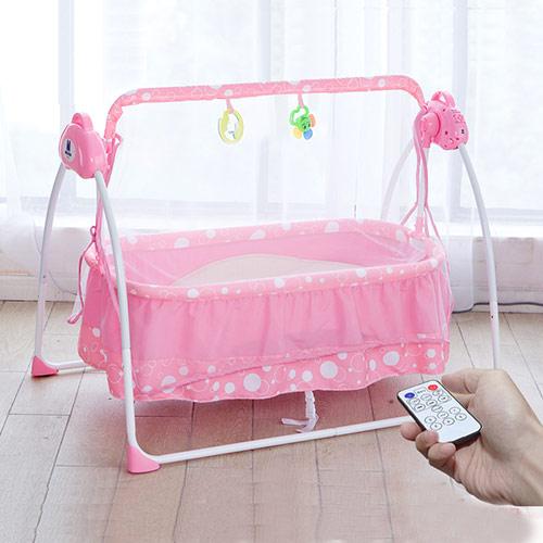 电动多功能婴儿摇篮床