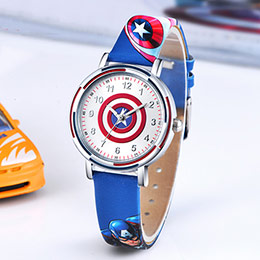 美国队长儿童石英手表