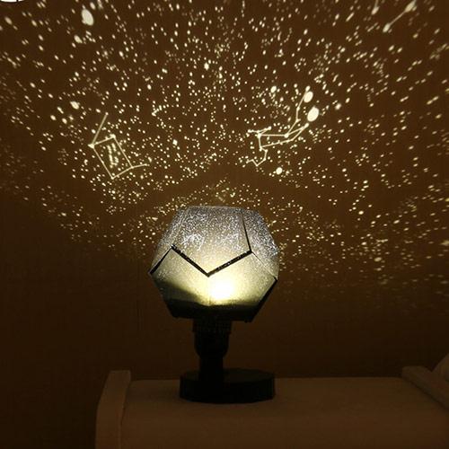 浪漫星空旋转投影灯