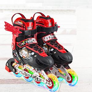 迪士尼儿童轮滑鞋套装