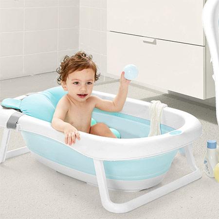 大号充气宝宝洗澡盆
