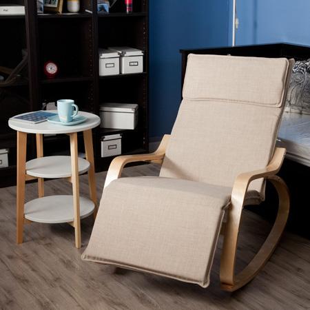 木质高档休闲摇椅