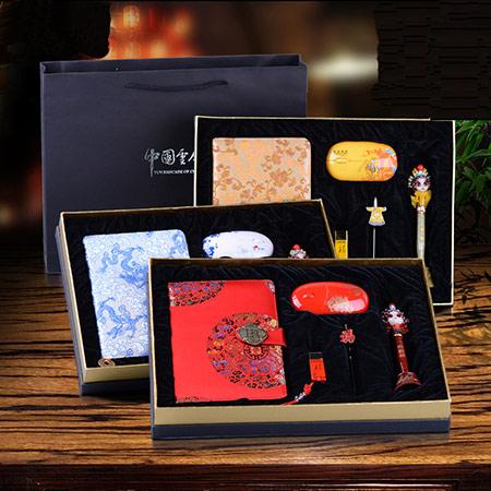 京剧脸谱书签礼盒