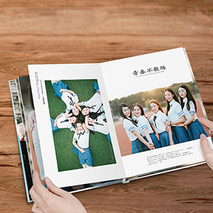 DIY定制毕业纪念册