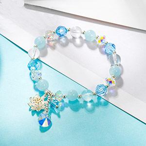 莲花仙子水晶手链