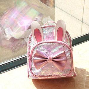 卡通蝴蝶结女童包包