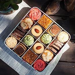 多口味曲奇饼干礼盒