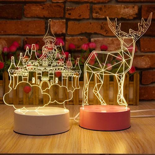 3D立体LED小夜灯