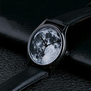 月球表面创意手表