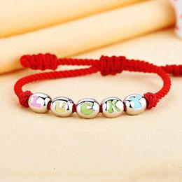 宝宝字母串串珠手绳