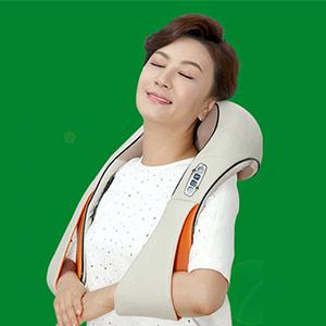 肩颈电动按摩披肩