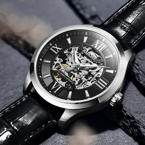 送個手表作為老公生日禮物:羅西尼男款夜光機械表