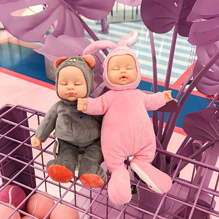 比伯睡眠安抚娃娃