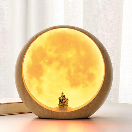 创意月球3D台灯