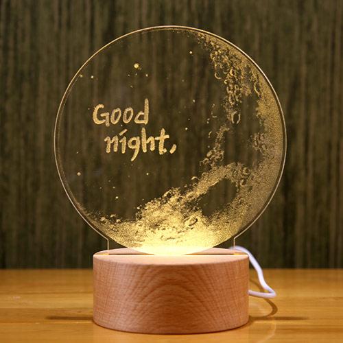 创意小夜灯拍拍灯