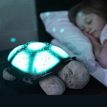 安睡波浪龟夜灯