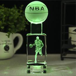 定制NBA球星水晶灯