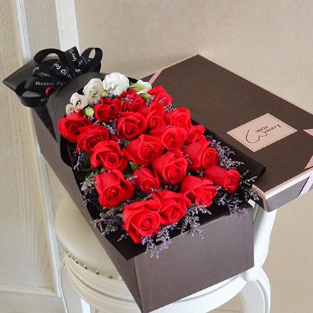 情侣初次表白送女生什么礼物?